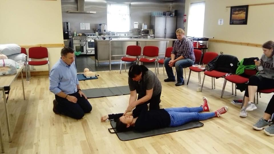 Basic First Aid Course with Donegal Safety Training Solutions