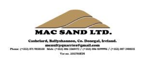 Mac Sand Ltd